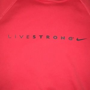 Livestrong Nike hoodie, great condition! Size S